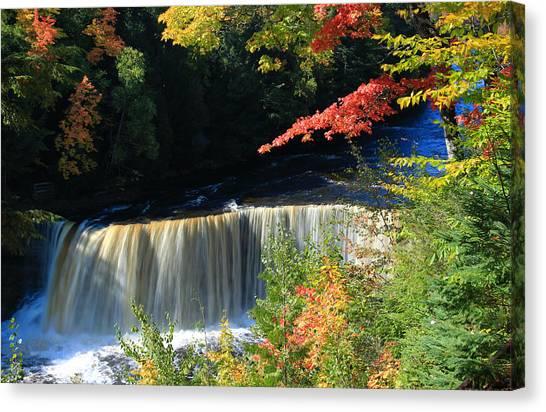 Tahquamenon Falls Autumn Canvas Print
