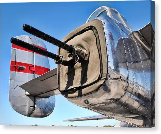 Tail Gunner Canvas Print