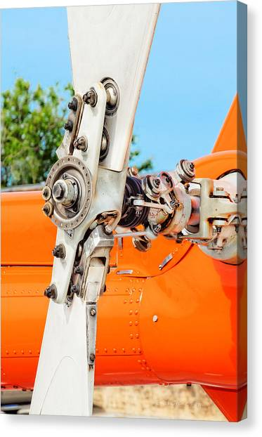 Tail Rotor Canvas Print