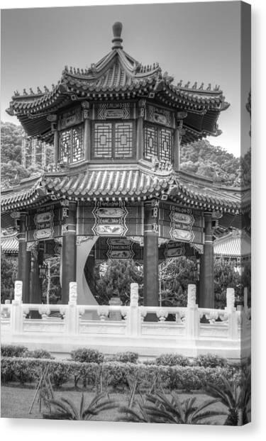 Taiwan Gazebo Canvas Print