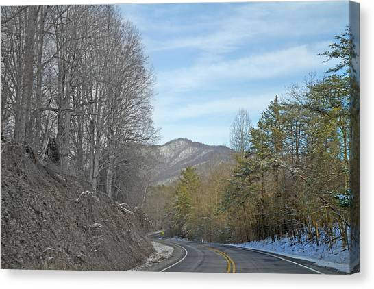 Country Roads Canvas Print - Take A Chance With Travel by Betsy Knapp