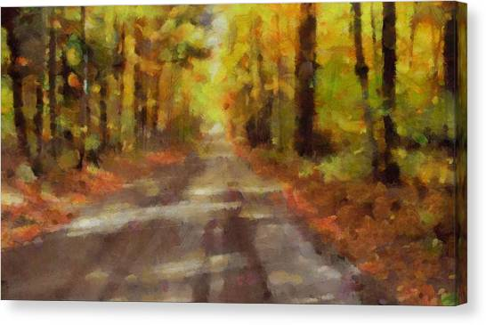 Offroading Canvas Print - Take Me Home Country Roads by Dan Sproul
