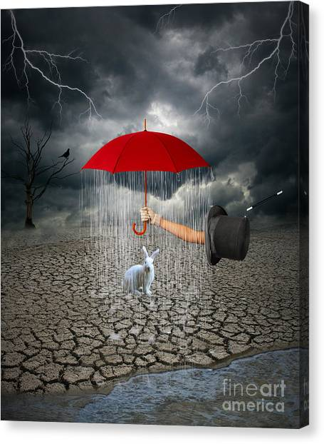 Take This.. It May Rain Canvas Print