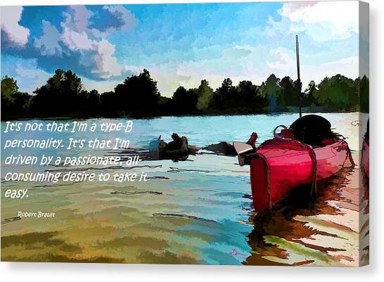 Taking It Easy Canvas Print