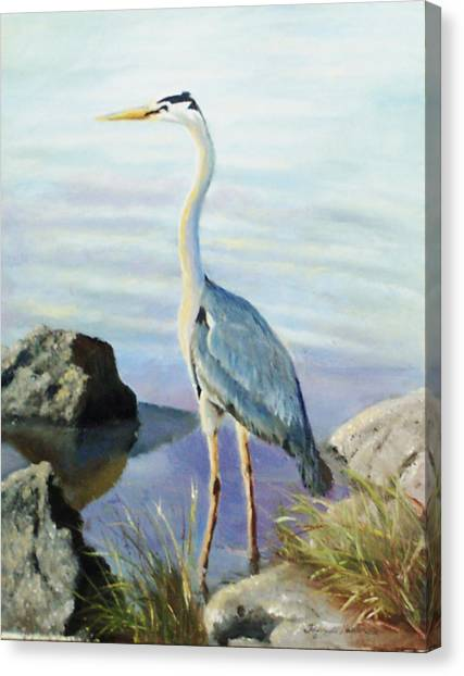 Tall Fellow Canvas Print