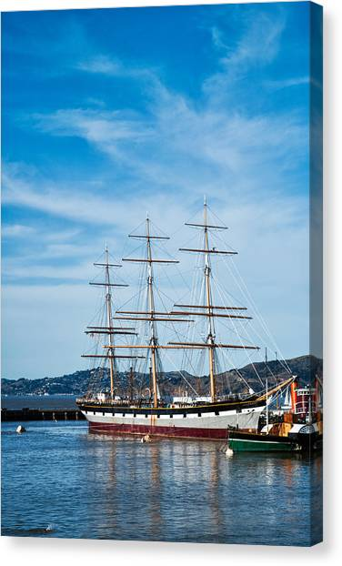 Tall Ship Balclutha San Francisco Canvas Print