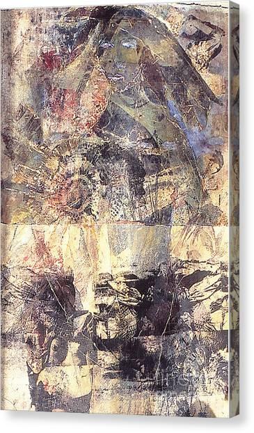 Tamara Canvas Print by Charles B Mitchell