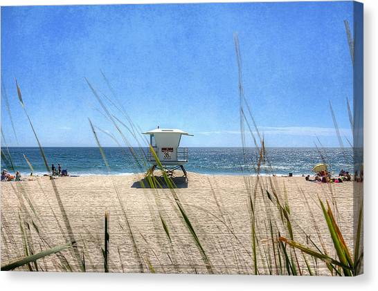 Canvas Print - Tamarack Beach by Ann Patterson