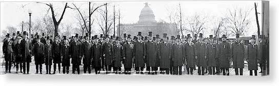 Democratic Politicians Canvas Print - Tammany Democrats Washington Dc by Fred Schutz Collection