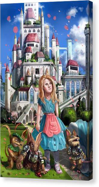 Tammy In Capira Canvas Print