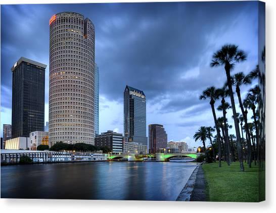 Tampa 1 Canvas Print