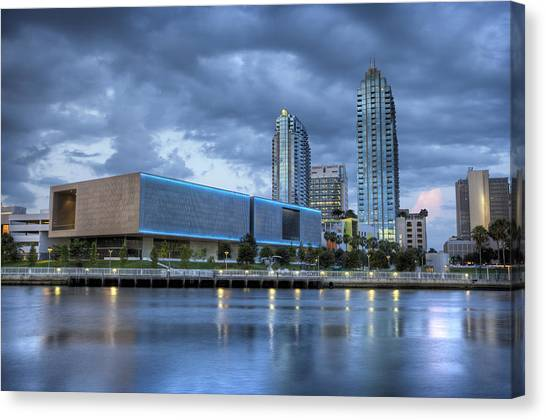 Tampa Museum Of Art Canvas Print