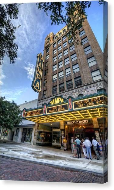 Tampa Theater 2 Canvas Print