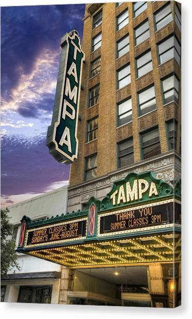 Tampa Theater Canvas Print