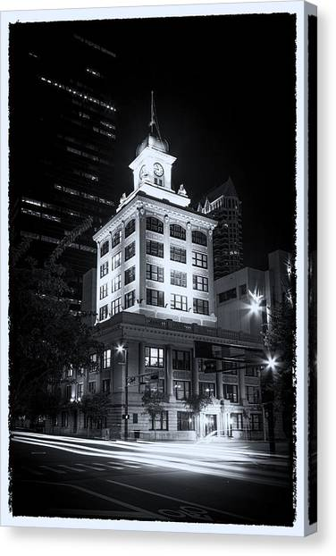 Tampa's Old City Hall Canvas Print