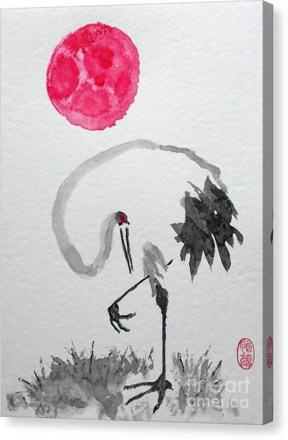 Tancho Canvas Print