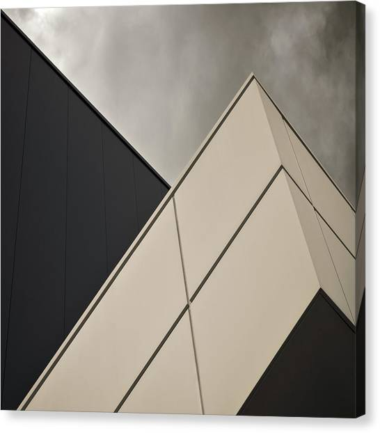 Modern Architecture Canvas Print - Tangential by Gilbert Claes