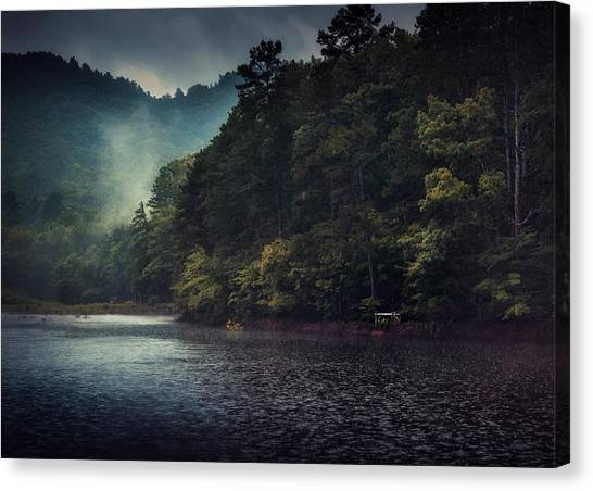 Tanglewood Lake Canvas Print by William Schmid