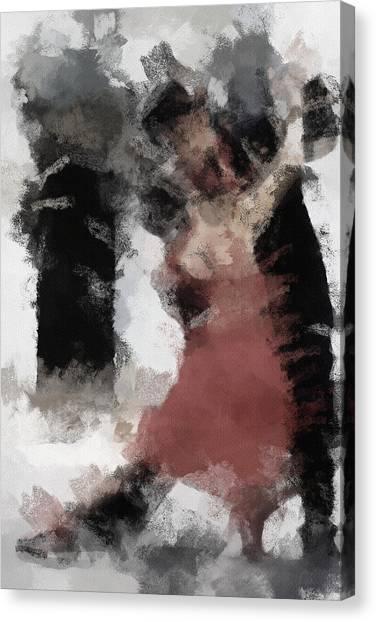 Tango Canvas Print - Tango 2 by Inspirowl Design