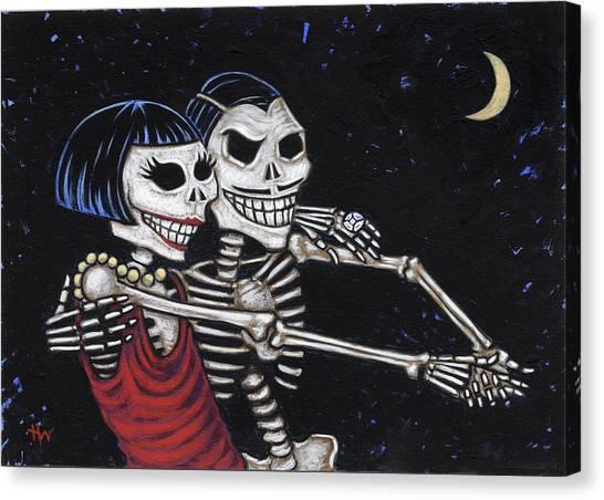 Tango 4 Ever Canvas Print