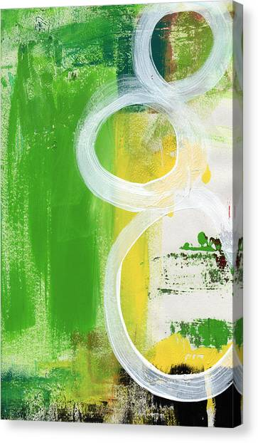 Abstract Expressionism Canvas Print - Tango- Abstract Painting by Linda Woods