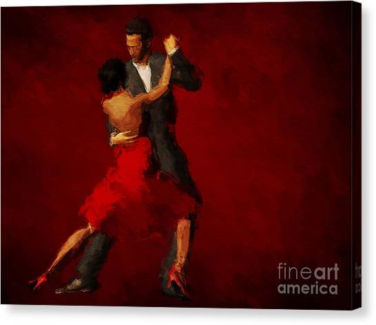 Tango Canvas Print - Tango by John Edwards