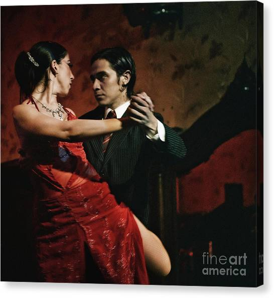 Tango - The Passion Canvas Print