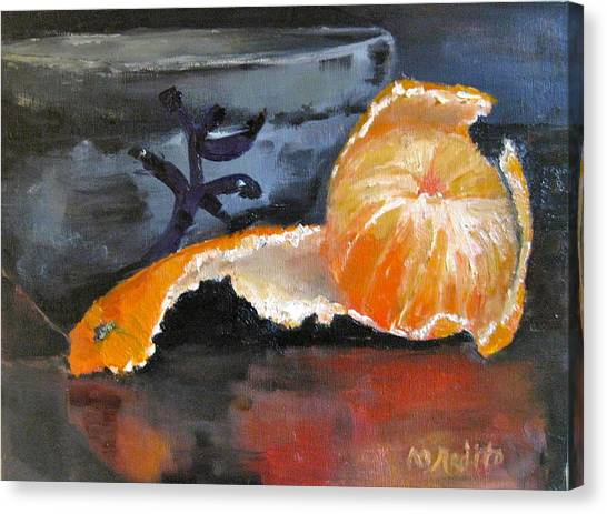 Tangy Tangerine Canvas Print