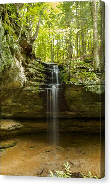 Tannery Falls Canvas Print