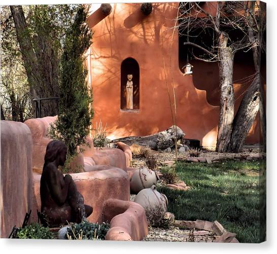 Taos Dreamers Canvas Print