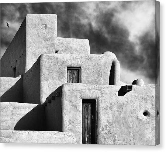 Taos Pueblo Stacks Canvas Print