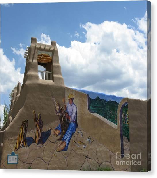 Taos Wall Art Canvas Print