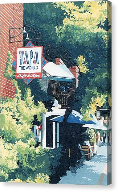 Tapa The World Canvas Print by Paul Guyer