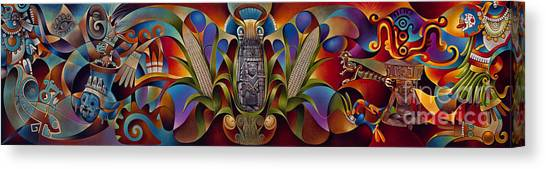Tapestry Of Gods Canvas Print