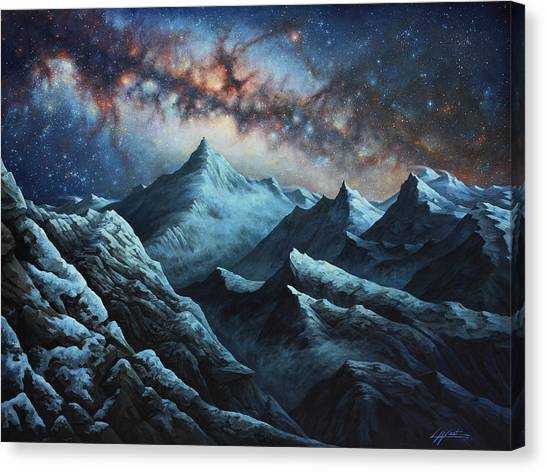 Tapestry Of Time Canvas Print