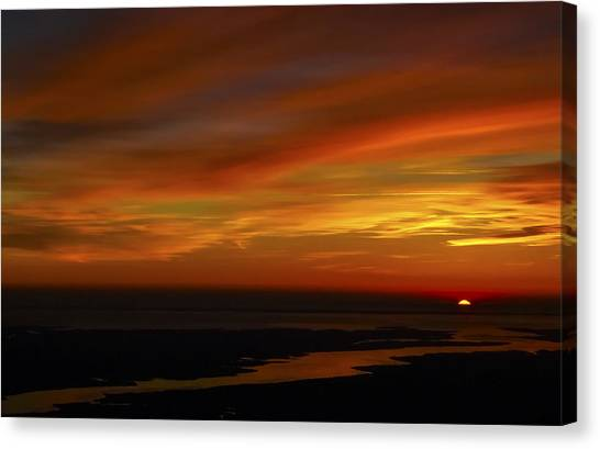 Rappahannock Sunrise II Canvas Print