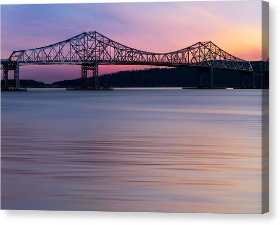 Tappan Zee Bridge Sunset Canvas Print
