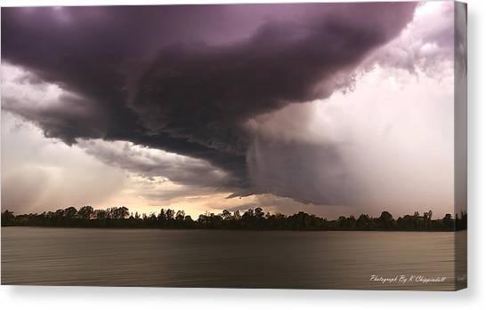 Taree Storm 0001 Canvas Print