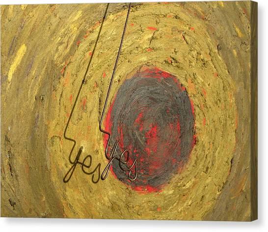 Jasper Johns Canvas Print - Target 180 Close Detail by Errol  Jameson