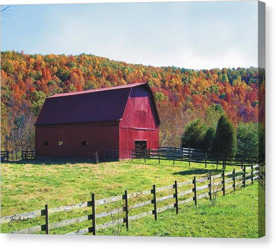 Tarheel Barn Canvas Print