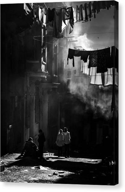 Dust Canvas Print - Tarlabaa?a? by Fatih Balkan