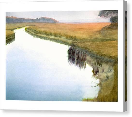 Tarpon Creek Canvas Print