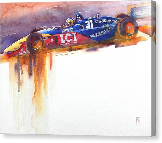 Nascar Canvas Print - Tasman by Robert Hooper