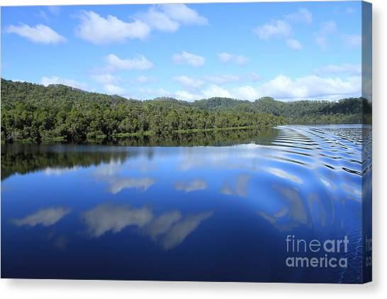 Tasmanian Reflexions All Profits Go To Hospice Of The Calumet Area Canvas Print