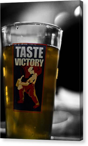 Taste Victory Canvas Print by Zachary Hitchcock