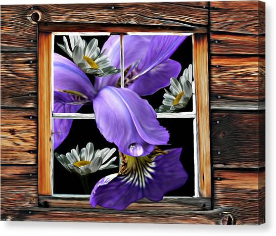 Tasting Spring Rain Canvas Print