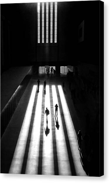 Street Canvas Print - Tate by