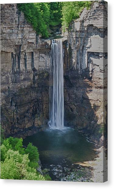 Taughannock Falls  0453 Canvas Print