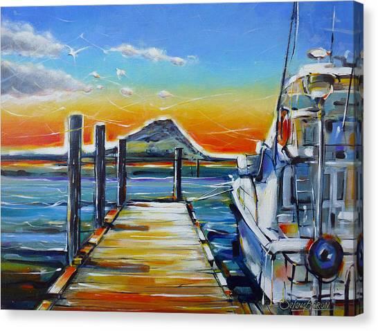Tauranga Marina 180412 Canvas Print