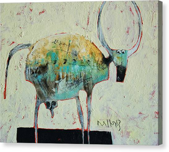 Outsider Canvas Print - Taurus No 6 by Mark M  Mellon